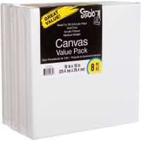"Studio 71 Stretched Canvas Value Pack 8/Pkg-10""X10"""