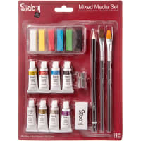 Studio 71 Mixed Media Art Set 19/Pkg