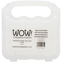 WOW! Embossing Powder Storage Case - Empty-Holds 6