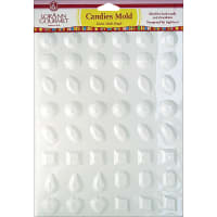 Breakup Candy Mold-Jewels 48 Cavity (10 Designs)