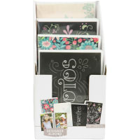 """K&Company Floral & Chalk 1-Up Photo Albums 12/PDQ Display-Holds (32) 4""""x6"""" Photos; 4 Designs/3ea, Pack of 12"""