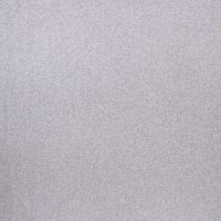"American Crafts POW Glitter Paper 12""X12""-Solid/Silver"