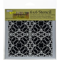 "Crafter's Workshop Template 6""X6""-Spanish Tile"