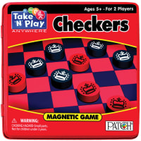Take 'N' Play Anywhere Magnetic Game-Checkers