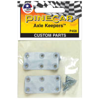 Pine Car Derby Custom Parts-Axle Keepers