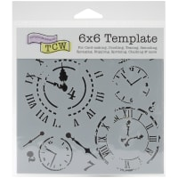 """Crafter's Workshop Template 6""""X6""""-Time Travel"""