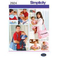 SIMPLICITY HIS AND HERS DIAPER BAGS AND-ONE SIZE