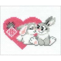 "RIOLIS Counted Cross Stitch Kit 6.25""x5""-You Are My Sweetheart (10 Count)"