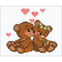 "RIOLIS Counted Cross Stitch Kit 6.25""x5""-Little Imps (10 Count)"