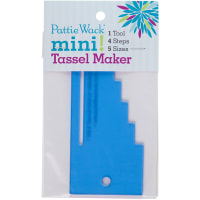 "Pattiewack Designs Mini Tassel Maker 5.5""X2.5"""