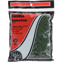 Bushes 18 To 25.2 Cubic Inches-Medium Green