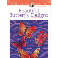 Dover Publications-Creative Haven: Beautiful Butterfly