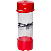 """Viewtainer Tethered Cap Storage Container 2""""X6""""-Red"""