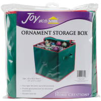 "Ornament Storage Box-13.5""x13""x13"""