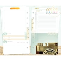 Color Crush Personal Planner Inserts 12/Pkg-Memory Keeping