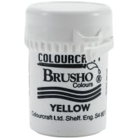 Brusho Crystal Colour 15g-Yellow