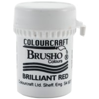 Brusho Crystal Colour 15g-Brilliant Red
