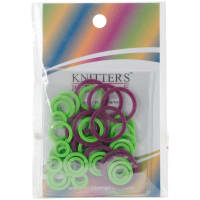 Knitter's Pride Mio Stitch Small Ring Markers-10/Pkg