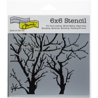 """Crafter's Workshop Template 6""""X6""""-Branches Reversed"""
