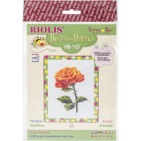 """RIOLIS Counted Cross Stitch Kit 5""""X6.25""""-Annabel (14 Count)"""