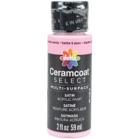 Ceramcoat Select Multi-Surface Paint 2oz-Cotton Candy