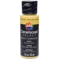 Ceramcoat Select Multi-Surface Paint 2oz-Pale Yellow