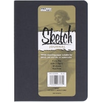 """Pro Art Softcover Sketch Journal 4""""X6""""-Blue"""