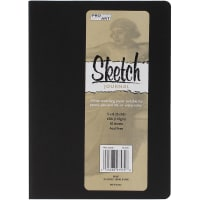 """Pro Art Softcover Sketch Journal 5""""X8""""-Black"""