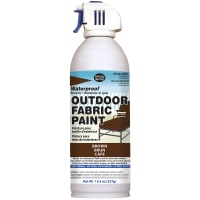 Outdoor Spray Fabric Paint 13.3oz-Brown