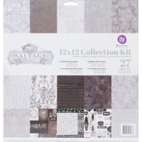 "Prima Marketing Collection Kit 12""X12""-Salvage District"
