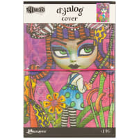 "Dyan Reaveley's Dylusions Dyalog Canvas Printed Cover 5""X8""-Believe"
