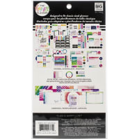 Happy Planner Note Cards/Sticky Note Multi Pack-Watercolor Brights, 401/Pkg