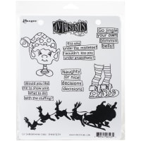 "Dyan Reaveley's Dylusions Cling Stamp Collections 8.5""X7""-Elf Improvement Class"