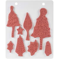 """Dyan Reaveley's Dylusions Cling Stamp Collections 8.5""""X7""""-Wood For The Trees"""