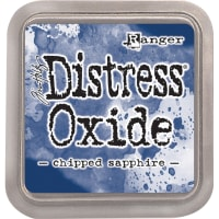 Tim Holtz Distress Oxides Ink Pad-Chipped Sapphire