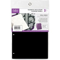 """Crafter's Companion 8.25""""X5.5"""" Magnetic Storage Panels 3/Pkg-Small"""