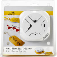 Punch Bunch AnySize Elegant Tag Maker-4-In-1 Corner And Hole Punch