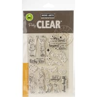 "Hero Arts Clear Stamps 4""X6""-Lucky Star"