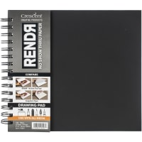 "RENDR No Show Thru Lay Flat Drawing Pd 8""X8"" -32 Sheets"