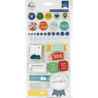 Out & About Mixed Embellishment Pack 41/Pkg