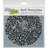 """Crafter's Workshop Template 6""""X6""""-Microbial"""