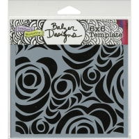 """Crafter's Workshop Template 6""""X6""""-Echoes"""