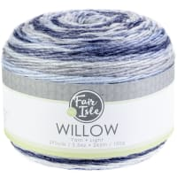 Fair Isle Willow 100g Yarn-Vintage Denim