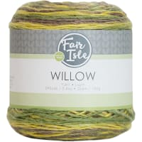 Fair Isle Willow 100g Yarn-Green Fields