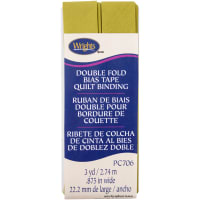 """Wrights Double Fold Quilt Binding .875""""X3yd-Dill Pickle"""