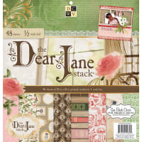 "DCWV Single-Sided Cardstock Stack 12""X12"" 48/Pkg-Dear Jane, 24 Designs/2 Ea, 12 W/Foil"