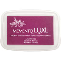 Memento Luxe Ink Pad-Lilac Posies
