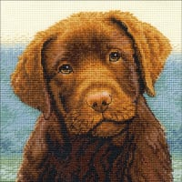 """Dimensions Counted Cross Stitch Kit 6""""X6""""-Hot Chocolate (18 Count)"""