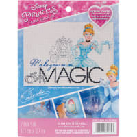 """Dimensions Disney Counted Cross Stitch Kit 7""""X5""""-Make Your Own Magic (14 Count)"""