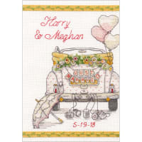 "Dimensions Counted Cross Stitch Kit 5""X7""-Wedding Day (14 Count)"